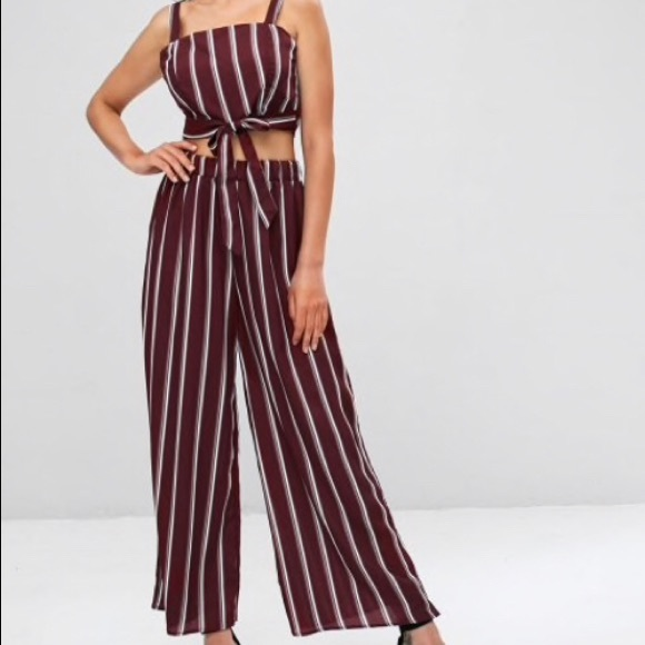 new new collection bright in luster Zaful Two piece jumpsuit NWT